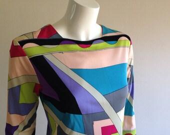 As Is 1960s Emilio Pucci Mini Dress