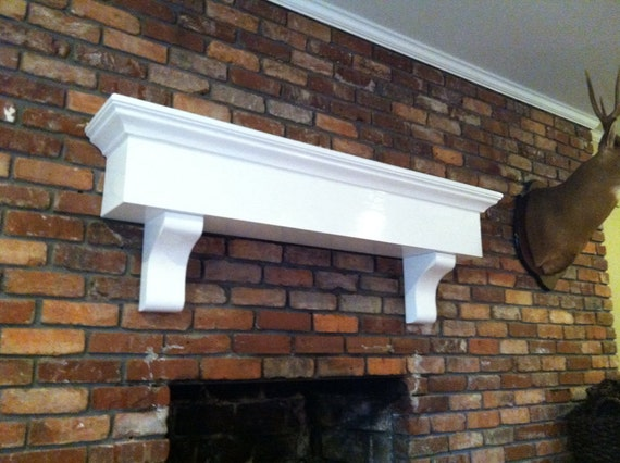 Large Chubby Fireplace Mantel Shelf With By Rayscustomwoodwork
