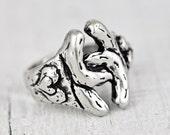 Double Horseshoe Ring - Horseshoe Jewelry - R307