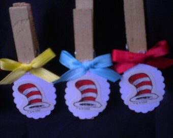 48pc Don't Cross the Leg ,Baby Shower Game Dr,Seuss Cat In the Hat