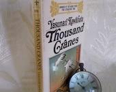 "Vintage book ""Thousand Cranes"" by Yasunari Kawabata"