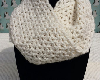 Whipped Cream Infinity Scarf