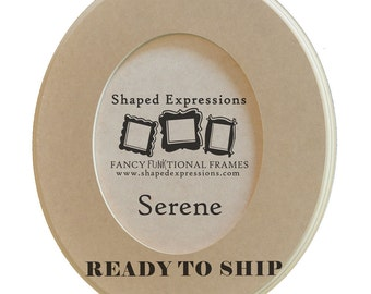 READY TO SHIP - 5x7 Serene -  unfinished picture frame