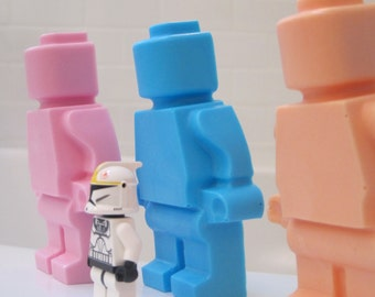 LARGE opaque ROBOT shaped Soap