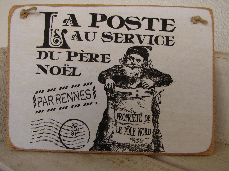 la poste pere noel french father christmas postal image on. Black Bedroom Furniture Sets. Home Design Ideas
