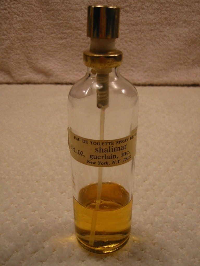 vintage eau de toilette shalimar by guerlain spray