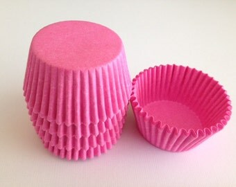 Pink Baking Liners Greaseproof Standard Liners