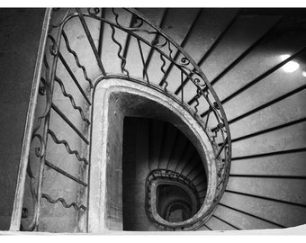Staircase France Photo Print