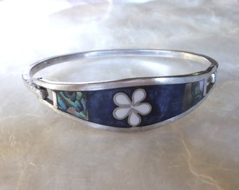 Silver Inlaid Bracelet