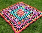 pattern for fabulous square blanket