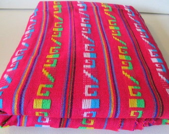"Mexican Hot Pink Fabric 31"" width by one yard"