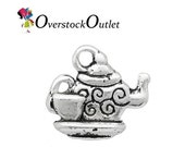 4 Tea Pot With Tea Cup Charms BE509