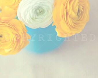 vibrant rose color print (5x5)