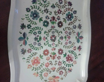 Worcester Ware Metal Tray