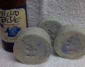 Blueberry Buzz (Beer Soap)