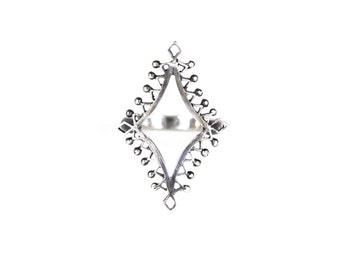 Silver Lantern Ring