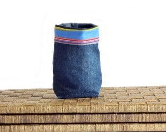 Kitchen or desk storage basket - gift -  home decor - for her