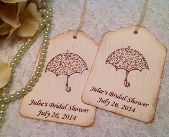 Gender Neutral Baby Shower Favor Tags-Custom Wish Tags