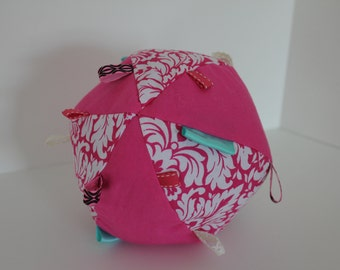 Stuffed Taggie Ball - Baby Toy