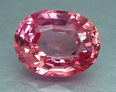 7.79 Ct. Lab Created Simulated Red Pink Orange Padparadscha Sapphire