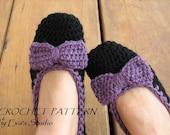 Adult Slippers Crochet Pattern PDF,Easy, Great for Beginners, Shoes Crochet Pattern Slippers,  Pattern No. 12