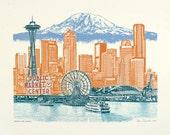Seattle Art // Print // W...