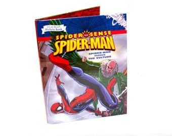 Spiderman Book Tablet Cover Case- (iPad / iPad Air / Kindle Fire 8.9 / Nexus 10 / Samsung 10.1 / Hardcover / Book)