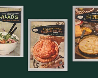 Good Housekeeping's Cook Booklet's Set of 3