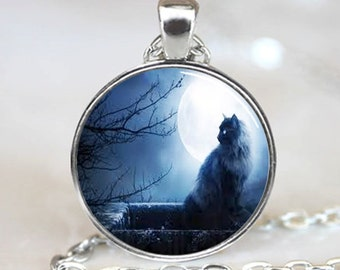 Black Cat Pendant, Black Cat Necklace, Black Cat Jewelry, Black Cat Charm (PD0138)