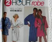 Simplicity Misses Mens Bath Robe  Sewing Pattern 9319 UC FF Uncut Size L XL