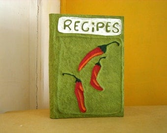 chillies recipe book handmade in italy