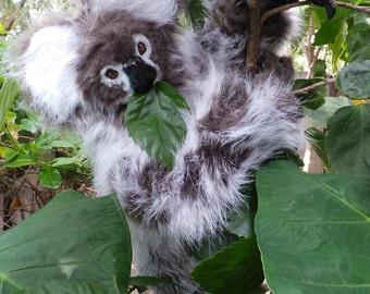DISCOUNTED! Koala Posable Art Doll OOAK