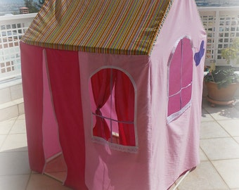 Fabric Playhouse, Fits over PVC Frame, Made to Order