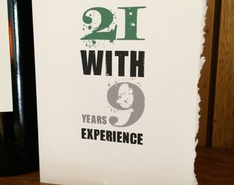 30th birthday [ birthday card / 30 ]