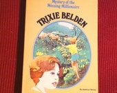 Trixie Belden #34 The Mystery of the Missing Millionaire  Vintage Book