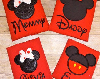 Minnie Mouse Mickey Mouse -Disney Inspired Family Custom Disney shirts Fast Shipping