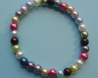 "7 1/2"" Pearl Bracelet"