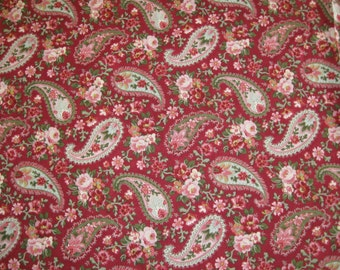 """Cotton Fabric """"Forget Me Not, My Love"""" by Robyn Pandolph 42""""W x 13 Yards"""