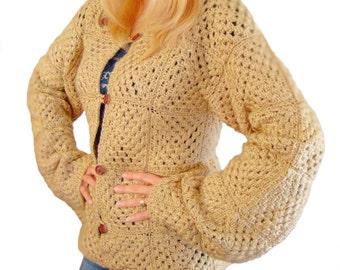 Granny Square Jacket, crochet jacket, granny square cardigan, crochet sweater, blanket jacket, square jacket, square cardigan, granny jacket