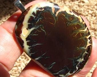 Large Koroit Boulder /Australian Opal  Pendant