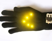 """DIY KIT Biking Glowes - as featured in """"MAKE"""" and """"Craft""""!"""