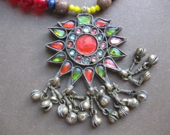 Gypsy - Vintage Pendant and Beads Free Your Soul