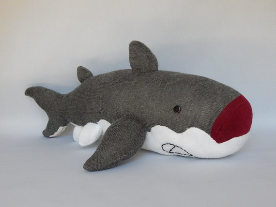 Shark Plush Toys : Shark plush toy stuffed animal sock monkey