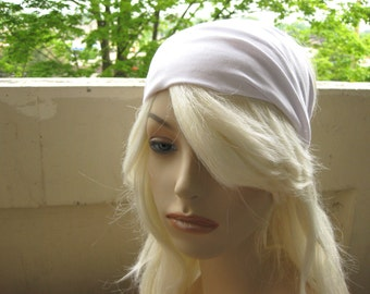 White Headband, Turban Head Wrap Band, Womens Wide Yoga Headband, Turband, Womens Turban, Head Wrap, Hair Accessories, Gifts for Her