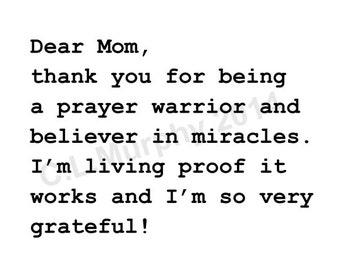 DOWNLOAD, Mom Birthday Card, Happy Birthday Mom, Mom Birthday, Mother's Day, Happy Mother's Day, Mom Appreciation, Dear Mom Thank You