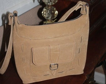 Leather Purse Soft Leather with Shoulder Strap Free Shipping
