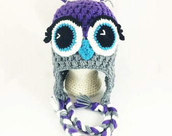 Adult Size - My favorite Owl hat