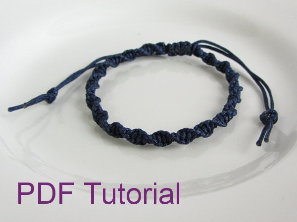 square knot friendship bracelet instructions
