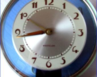 Vintage Mint ART DECO Clock 1940'S by Westclox