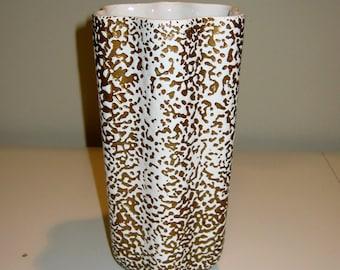 """Vintage Royal Haeger Vase in """"Pebble"""" Glaze"""